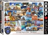 Globetrotter World Puzzle 1000 Pieces