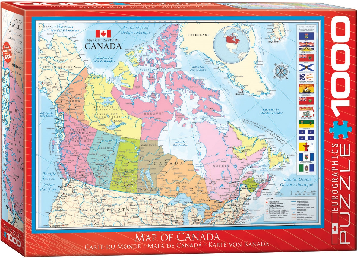 Map of Canada - Puzzle