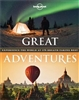 Great Adventures of the World. This showcase of the worlds most thrilling adventures takes you by boot, pedal or paddle to awe inspiring natural spectacles and on adrenaline charged feats of endeavor. You don't need to be intrepid necessarily