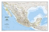 Mexico Classic - National Geographic Wall Map. Our most detailed wall map of Mexico. Features thousands of place names, accurate political boundaries, national parks including Cumbres de Monterrey National Park, biosphere reserves including El Vizcaino Bi