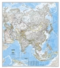 Asia Classic National Geographic Wall Map