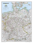 Germany Classic National Geographic Wall Map