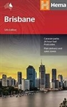 Brisbane & Region Travel & Road Map. Hema's major city maps clearly highlight all freeways and major and minor roads. A complete overview of the city is provided by a fully-indexed suburban road map which includes an inset of the CBD. A regional map compl
