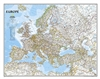 Europe Political Wall Map - National Geographic. Includes the countries and major cities of Albania, Armenia, Austria, Azerbaijan, Belarus, Belgium, Bosnia & Herzegovina, Bulgaria, Croatia, Cyprus, Czech Republic, Denmark, Estonia, Finland, France, Georgi