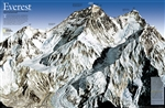 Mount Everest 50th Anniversary National Geographic Poster