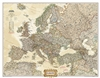 Europe Executive Wall Map Large - National Geographic. Make a statement with the newest addition to our European Wall Map library. The rich tones of the Political Executive map combine the popular antique look with up-to-date information so that you have