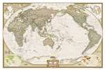 World Executive Pacific Centered National Geographic Wall Map. National Geographic's World map is the standard by which all other reference maps are measured. The World map is meticulously researched and adheres to National Geographic's convention of maki