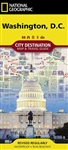 Washington DC Destination City Map & Travel Guide by National Geographic. Considering visiting Washington? Did you know that most of the sites, such as the Smithsonian along the Mall are free, and is situated right next to the White House? The Cherry Blos