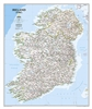 Ireland Classic National Geographic Wall Map