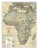 Africa Executive Wall Map - National Geographic. Our executive-style political map of Africa features country boundaries, place names, bodies of water, airports, major highways and roads, and much more. Includes the most accurate and up to date boundaries