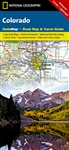 Colorado National Geographic State Guide Map