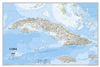 Cuba Classic National Geographic Wall Map