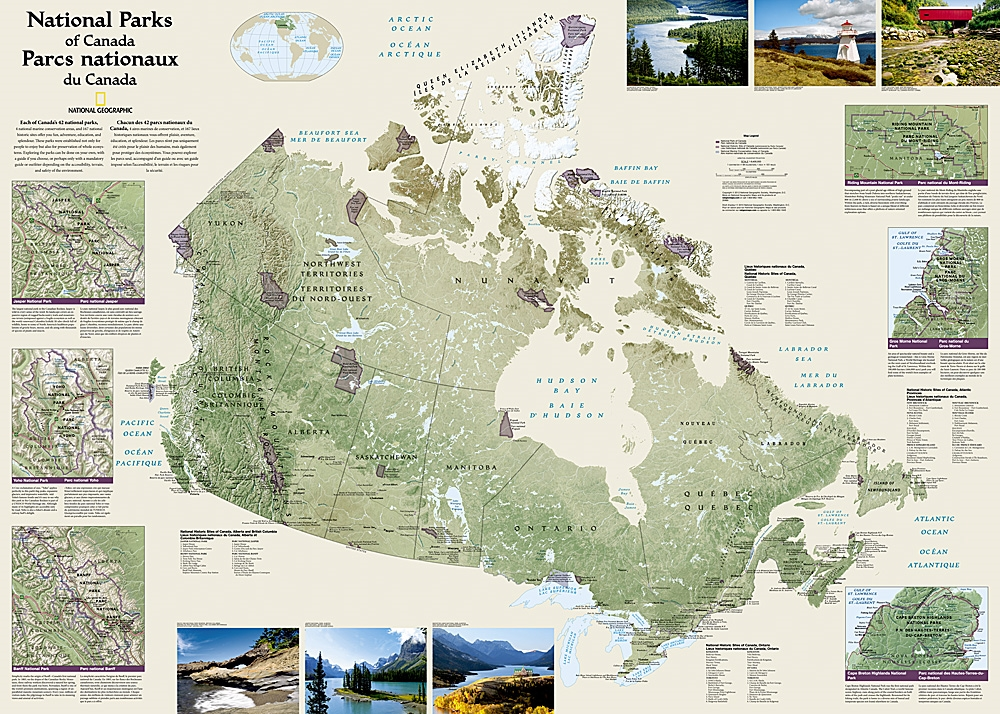 Canada National Parks Wall Map - National Geographic on canada new york map, canadian parks map, canada reserves map, canada hospitals map, ecuador national park map, fun canada map, canada fall nature, banff national park area map, pacific rim national park reserve map, point pelee national park map, canada roads map, canada transportation map, waterton lake trails map, north american national park map, canada train stations map, canada beaches map, canada rail lines map, mount st helens national park map, canada animals map, auyuittuq national park soil map,