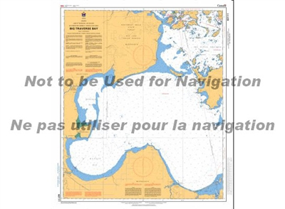 6211 - Big Traverse Bay Nautical Chart. Canadian Hydrographic Service (CHS)'s exceptional nautical charts and navigational products help ensure the safe navigation of Canada's waterways. These charts are the 'road maps' that guide mariners safely from por