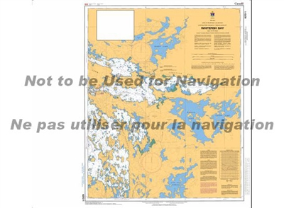 6213 - Whitefish Bay Nautical Chart. Canadian Hydrographic Service (CHS)'s exceptional nautical charts and navigational products help ensure the safe navigation of Canada's waterways. These charts are the 'road maps' that guide mariners safely from port t