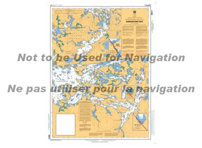 6214 - Sabaskong Bay Nautical Chart. Canadian Hydrographic Service (CHS)'s exceptional nautical charts and navigational products help ensure the safe navigation of Canada's waterways. These charts are the 'road maps' that guide mariners safely from port t