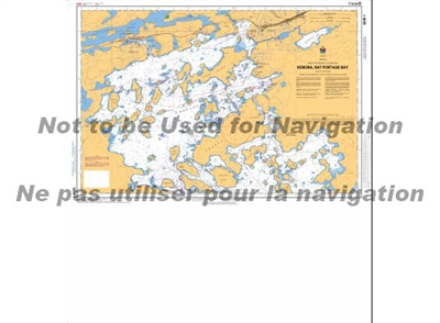 6218 - Kenora, Rat Portage Bay Nautical Chart. Canadian Hydrographic Service (CHS)'s exceptional nautical charts and navigational products help ensure the safe navigation of Canada's waterways. These charts are the 'road maps' that guide mariners safely f