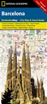 Barcelona National Geographic Destination City Map