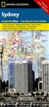 Sydney National Geographic Destination City Map
