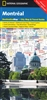 Montreal National Geographic Destination City Map