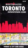Toronto Downtown Core Travel Map. City & Tourist Core Series is a collection of compact maps that cover the downtown business districts of most major city, and primary tourist areas in Canada. They are easy to read and quick to fold, and contain a legend