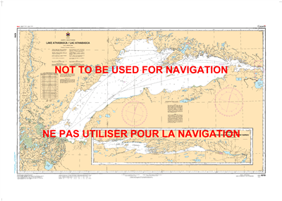 6310 - Lake Athabasca - Canadian Hydrographic Service (CHS)'s exceptional nautical charts and navigational products help ensure the safe navigation of Canada's waterways. These charts are the 'road maps' that guide mariners safely from port to port. With