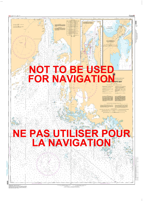Yellowknife Bay Canada Map 6369   Yellowknife Bay   Canadian Hydrographic Service (CHS)'s