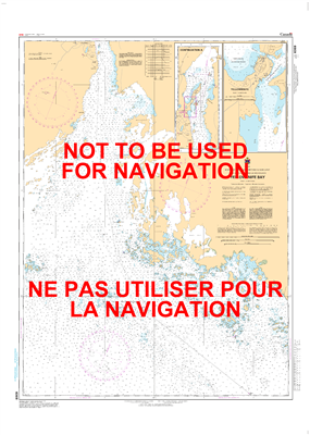 6369 - Yellowknife Bay - Canadian Hydrographic Service (CHS)'s exceptional nautical charts and navigational products help ensure the safe navigation of Canada's waterways. These charts are the 'road maps' that guide mariners safely from port to port. With