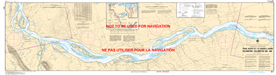 6411 - Trail River to Camsell Bend - Canadian Hydrographic Service (CHS)'s exceptional nautical charts and navigational products help ensure the safe navigation of Canada's waterways. These charts are the 'road maps' that guide mariners safely from port t