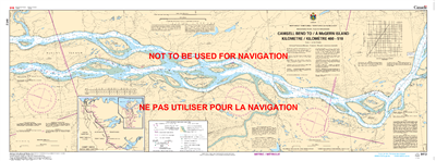 6412 - Camsell Bend to McGern Island - Canadian Hydrographic Service (CHS)'s exceptional nautical charts and navigational products help ensure the safe navigation of Canada's waterways. These charts are the 'road maps' that guide mariners safely from port