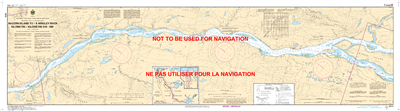 6413 - McGern Island to Wrigley River - Canadian Hydrographic Service (CHS)'s exceptional nautical charts and navigational products help ensure the safe navigation of Canada's waterways. These charts are the 'road maps' that guide mariners safely from por