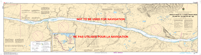 6414 - Wrigley River to Three Finger Creek - Canadian Hydrographic Service (CHS)'s exceptional nautical charts and navigational products help ensure the safe navigation of Canada's waterways. These charts are the 'road maps' that guide mariners safely fro