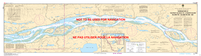 6418 - Norman Wells Halfway Islands to Rader Island - Canadian Hydrographic Service (CHS)'s exceptional nautical charts and navigational products help ensure the safe navigation of Canada's waterways. These charts are the 'road maps' that guide mariners s