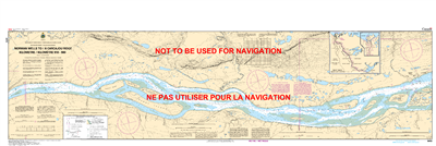 6419 - Norman Wells to Carcajou Ridge - Canadian Hydrographic Service (CHS)'s exceptional nautical charts and navigational products help ensure the safe navigation of Canada's waterways. These charts are the 'road maps' that guide mariners safely from por