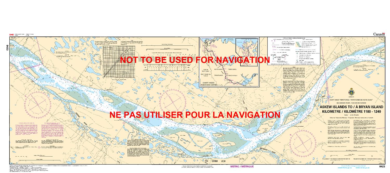 Islands Of Canada Map.6423 Askew Islands To Bryan Island