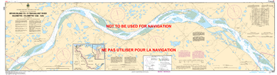 6424 - Bryan Island to Travaillant River - Canadian Hydrographic Service (CHS)'s exceptional nautical charts and navigational products help ensure the safe navigation of Canada's waterways. These charts are the 'road maps' that guide mariners safely from