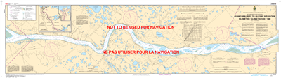 6426 - Adam Cabin Creek to Point Separation - Canadian Hydrographic Service (CHS)'s exceptional nautical charts and navigational products help ensure the safe navigation of Canada's waterways. These charts are the 'road maps' that guide mariners safely fr
