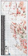NE BC Oil and Gas Fields & Wells Map. This base map showcases all of the Oil and Gas Fields and Wells drilled in NE British Columbia. Symbolized wells gives the user a good idea where the pools are situated. There is a quick reference guide showcasing the