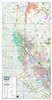 Montney West NE BC Geological Play map. This map covers NE BC, incliding in the Peace river Black and extending north to cover off the entire formation. Includes current township and section grids, NTS grid, lakes and rivers, cities and towns, parks and n