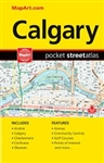 Calgary Alberta Pocket Road Atlas. Pocket Atlas Convenient, quick-reference atlas of Calgary packs lots of information and still easily fits into a purse or pocket. Includes surrounding city maps of Airdrie, Calgary, Chestermere, Cochrane, Okotoks Feature