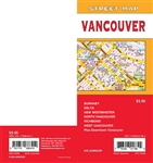 Vancouver Street Map Belcarra, Burnaby, Coquitlam, Delta, Horseshoe Bay, Lander, Lions Bay, New Westminster, North Vancouver, Port Moody, Richmond, Surrey, Tsawwassen, Vancouver, West Vancouver, Downtown Vancouver, Partial coverage. It shows transportatio