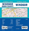 Windsor Street Map Includes Amherstburg, Belle River, Essex, Kingsville, Leamington, Tilbury and adjoining communities, and Essex county map. It shows transportation, boundaries, services, culture centres, and road designations.