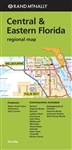 Central & Eastern Florida Regional Map. Includes communities and vacation destination hot spots of Orlando, Daytona Beach, Universal Studios, Walt Disney World, Lake Mary, Palm Coast, Melbourne and more. Rand McNally's folded map for Central & Eastern Flo
