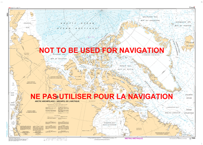7000 - Arctic Archipelago - Canadian Hydrographic Service (CHS)'s exceptional nautical charts and navigational products help ensure the safe navigation of Canada's waterways. These charts are the 'road maps' that guide mariners safely from port to port. W