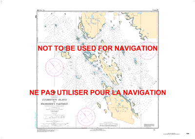 7126 - Culbertson Island to Frobishers Farthest Nautical Chart. Canadian Hydrographic Service (CHS)'s exceptional nautical charts and navigational products help ensure the safe navigation of Canada's waterways. These charts are the 'road maps' that guide