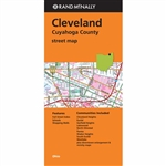 Cleveland Cuyahoga County Ohio Street Map. Communities include Cleveland Heights, Euclid, Garfield Heights, Lakewood, North Olmsted, Parma, Shaker Heights, South Euclid and Westlake. Rand McNally's folded map for Cleveland and Cuyahoga County is a must-ha