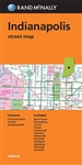 Indianapolis Indiana Street Map. Rand McNally's folded map for Indianapolis is a must-have for anyone traveling in and around this part of Indiana, offering unbeatable accuracy and reliability at a great price. Our trusted cartography shows all Interstate