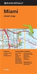 Miami Street Map. Includes Coral Gables, Doral, Florida City, Hialeah, Homnstead, Key Biscayne, Miami Beach, Miami Gardens, Miami Springs, North Bay Village, North Miami Beach, Opa-Locka, Palmetto Bay, Pinecrest and Sweetwater. Includes parks, points of i