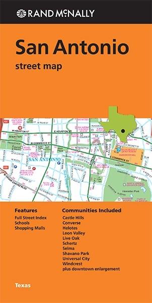 San Antonio Street Map