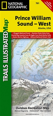 761 Prince William Sound West National Geographic Trails Illustrated